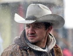 Jeremy Renner stars in 'Wind River'