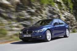 This photo provided by BMW shows the 2017 BMW 340i, an example of a vehicle that has features parents will love