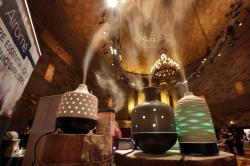 Essential oil diffusers with the home decor aspect, from Airome.