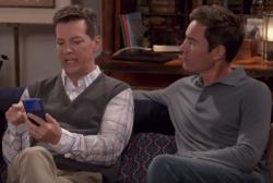 """A scene from """"Will & Grace"""""""