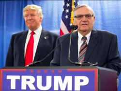 Donald Trump and former Maricopa County, Arizona, sheriff Joe Arpaio