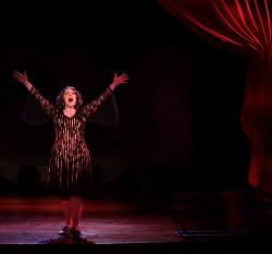 "Leigh Barrett in ""Gypsy"" at the Lyric Stage."