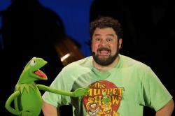 Bobby Moynihan with Kermit