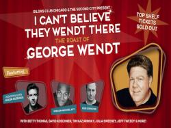 Comedians Join Lineup for Roast of George Wendt, to Benefit Gilda's Club Chicago and The Second City Alumni Fund