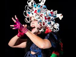 "A collection of 3D glasses becomes a headdress as Taylor Mac moves through time in his SF-bound ""A 24-Decade History of Popular Music."""