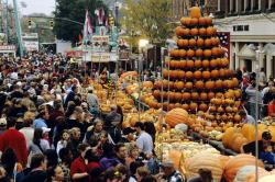 Circleville Pumpkin Show in Circleville, Ohio.