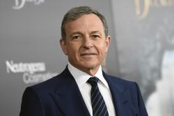 "In this Monday, March 13, 2017, file photo, The Walt Disney Company CEO Robert Iger attends a special screening of Disney's ""Beauty and the Beast"" at Alice Tully Hall in New York"