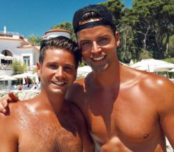 Josh Flagg (left) with Bobby Boyd
