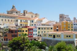 Mahon, the capital of Menorca.