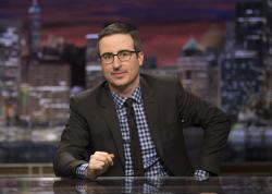 "John Oliver, host of ""Last Week Tonight with John Oliver."""
