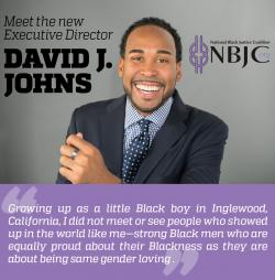 David J. Johns Named Executive Director of the National Black Justice Coalition