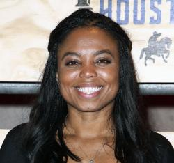 This is a Feb. 3, 2017, file photo showing Jemele Hill attending ESPN: The Party 2017 in Houston, Texas