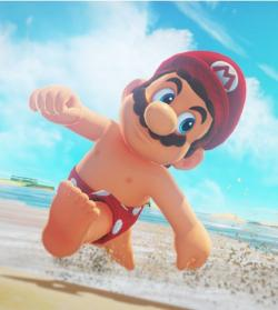 """A scene from """"Super Mario Odyssey"""""""