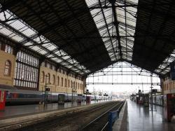 Marseille's Saint Charles train station.