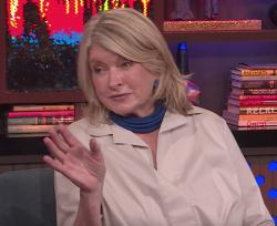 "Martha Stewart on ""Watch What Happens Live!"""