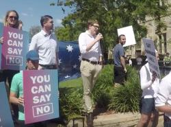 Watch: Gay Student Booed for Opposing Marriage Equality in Australia