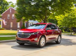This photo provided by Chevrolet shows the 2018 Chevrolet Equinox