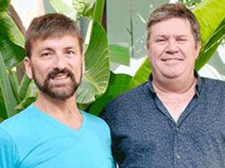 William Vastardis, left, and business partner Rick Hamer plan to open Papi Rico in the Castro
