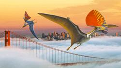 What if pterosaurs still thrived on Earth, and visited the Bay Area?