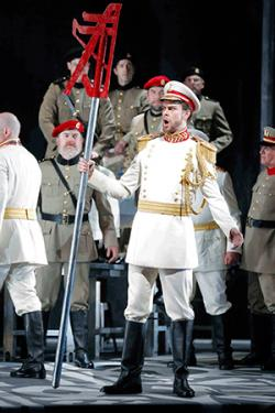 """Bass Anthony Reed as the King of Egypt in Verdi's """"Aida."""""""