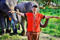 Susan Eckert in Thailand