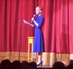 Kathy Griffin performing at the Best in Drag Show, an annual Aid for AIDS fundraiser.