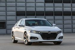 This photo provided by Honda shows the 2018 Honda Accord, a top-selling midsize sedan