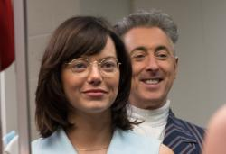 "Emma Stone and Alan Cumming in ""Battle of the Sexes"""