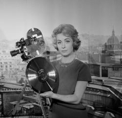 French actress and singer Danielle Darrieux