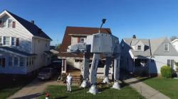 Giant Star Wars Halloween Display In Ohio
