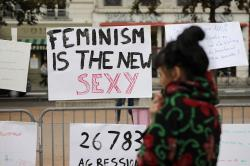 French Women Rally Against Sexual Abuse Under #MeToo Banner