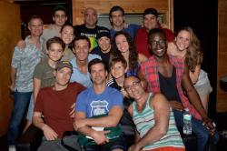 The cast of 'A Bronx Tale' record 'I Heard The Bells On Christmas Day