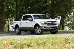 This photo provided by Ford shows the 2018 Ford F-150, a top-selling truck in the full-size category.