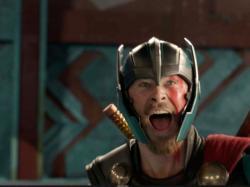 "Chris Hemsworth in  ""Thor: Ragnarok"""