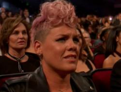 P!nk at the American Music Awards.