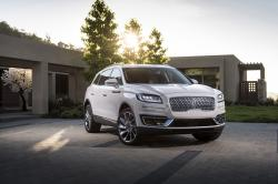 This photo provided by Ford Motor Co. shows the 2019 Lincoln Nautilus