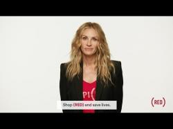 Julia Roberts for (RED)
