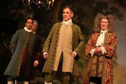"Mark Rylance in ""Farinelli and the King."""