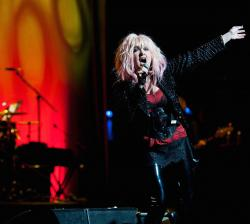 Cyndi Lauper's 'Home for the Holidays' Plays Beacon