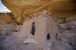 "This July 15, 2016, file photo, shows the ""Moonhouse"" in McLoyd Canyon which is part of Bears Ears National Monument, near Blanding, Utah"