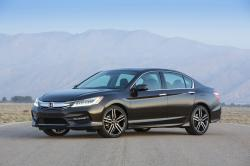 This photo provided by Honda shows a 2017 Honda Accord, a midsize sedan that has been a top pick for many years