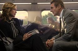 Vera Farmiga and Liam Neeson star in 'The Commuter'
