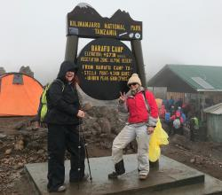 On Top of the World: Climbing Kilimanjaro