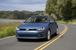 This photo provided by Volkswagen shows the 2017 Volkswagen Golf, which Edmunds considers one of the best compact hatchbacks on the market