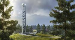 Tower of Voices, which is scheduled to open in September at the Flight 93 National Memorial in Stoystown, Pa.