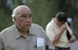 "In this Aug. 20, 2007 file photo, Robert ""Bob"" Murray, founder and chairman of Cleveland-based Murray Energy Corp., arrives at a news conference at the entrance to the Crandall Canyon Mine, in northwest of Huntington, Utah"