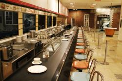 In this Sept. 16, 2016, file photo the F.W. Woolworth's lunch counter is seen at the International Civil Rights Center & Museum in Greensboro, N.C.