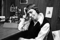 Ursula Le Guin is seen in a 1972 photo.