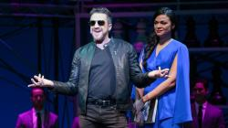 "Raul Esparza and Karen Olivo in ""Chess"" at the Kennedy Center."