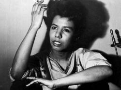 African-American lesbian playwright Lorraine Hansberry. Photo: PBS